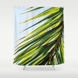 Palm Love Riviera Shower Curtain