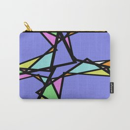 Stain Glass Window - Pastel, Abstract, Irregular Pattern Carry-All Pouch