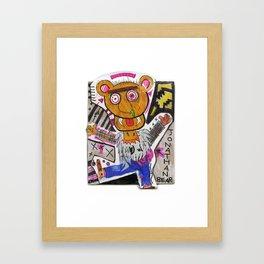 Jonathan Bear Framed Art Print