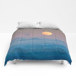 Full super moon December 2017 Comforters