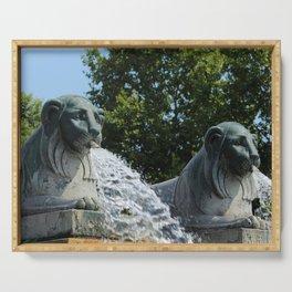 Fontaine aux Lions Paris Serving Tray