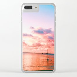 loner Clear iPhone Case