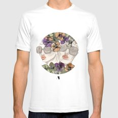 Look Good, Do Good Mens Fitted Tee White SMALL