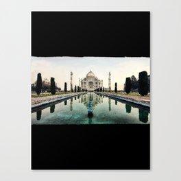 Majestic TajMahal - 195 Canvas Print