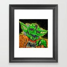 Monster Master Framed Art Print