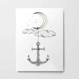 Anchor Your Dreams Metal Print