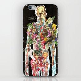 Skeleton iPhone Skin