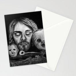 Heads and Kurt. Stationery Cards