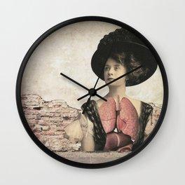 dermis_3 Wall Clock