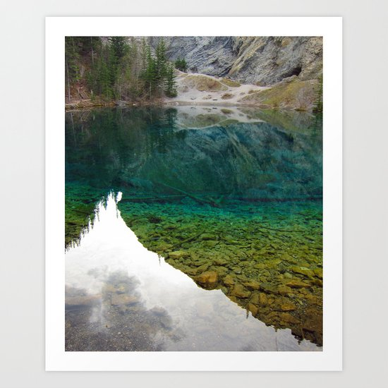There's something really magical about this place Art Print
