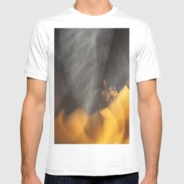 Flames in the Dark (abstract) T-shirt