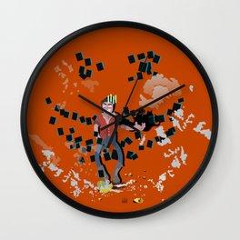 CHASING PARADISE - ALEKS HOLIDAY Wall Clock
