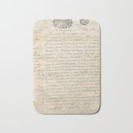 French Contract 1697 Bath Mat