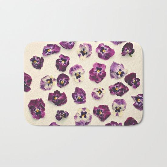 Violas  Bath Mat