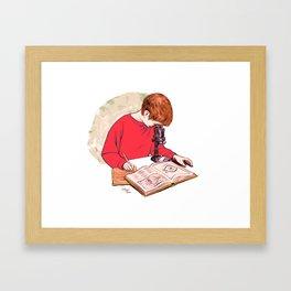 Science! Framed Art Print