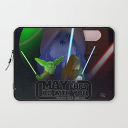 Frod0 the Sheltie: May The Furs Be With You (2019) Laptop Sleeve