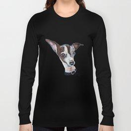 Mia the Italian Greyhound Dog Long Sleeve T-shirt