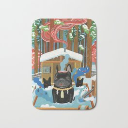 """French Onsen"" Bath Mat"