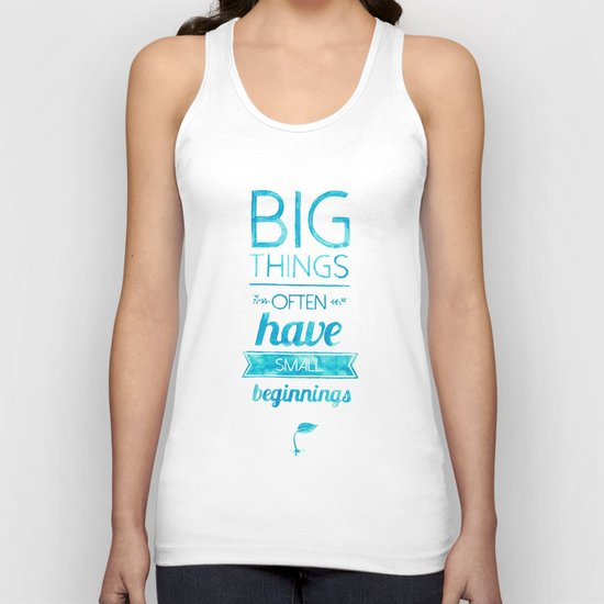 Big Things Unisex Tank Top