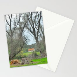 Green World II. Stationery Cards