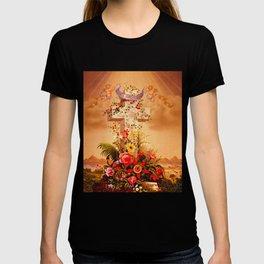 Faith Hope Charity - Christian Cross T-shirt