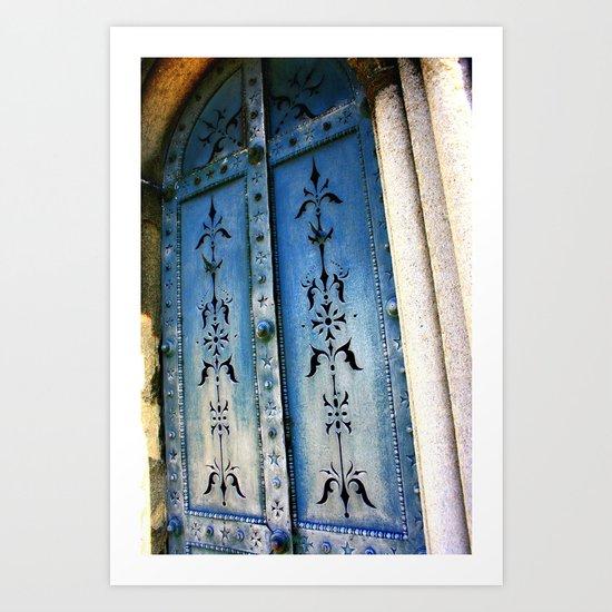 Knock, Knock Art Print