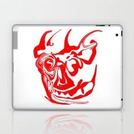 face8 red Laptop & iPad Skin