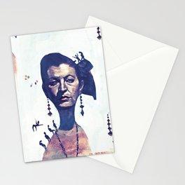 Lady Horizon Stationery Cards