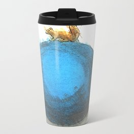 Cute squirrel Metal Travel Mug