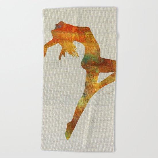 On her majesty's service Beach Towel