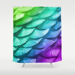 Mermaid Fish Tail Shower Curtain