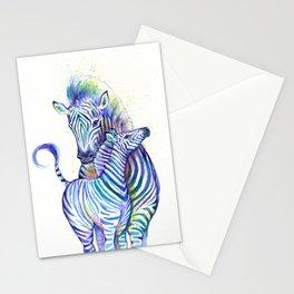 Zippy Zebras Stationery Cards