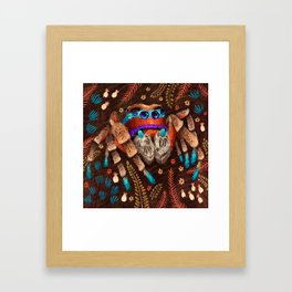 Jumping Spider Framed Art Print