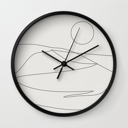 Abstract Landcape 15A Wall Clock