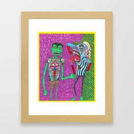 Rad Dadz Framed Art Print
