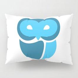 Blue Owl Pillow Sham