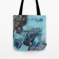 vw Tote Bags featuring VW, VW, Ohhh Mistic VW by wildVWflower