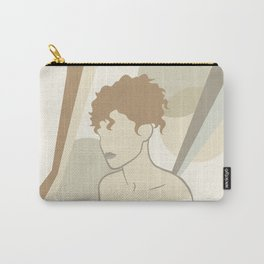 Abstract female body Carry-All Pouch