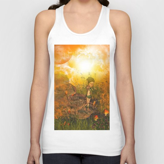 The land in the universe Unisex Tank Top