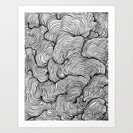 Zentangle 2 Art Print