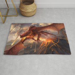 Red Dragon v2 Rug