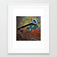 key Framed Art Prints featuring Key by Jean-François Dupuis
