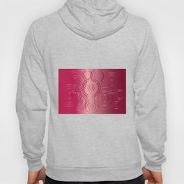 Red Circle Background Hoody