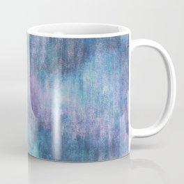 Baja Blue Watercolor Streaks Coffee Mug