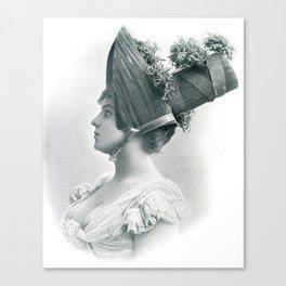 Miss Chrysanthemum Canvas Print