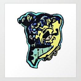 The Dane Art Print