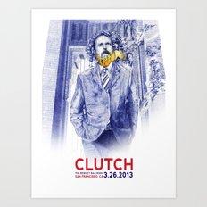 Clutch San Francisco Poster Art Print