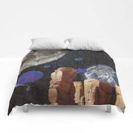 The slow trip in the universe Comforters