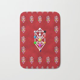 Sefirot of the Kabbala Bath Mat