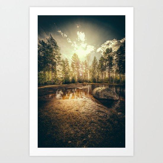 Sonne II Art Print
